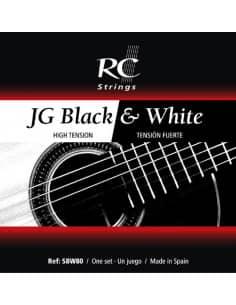 JG Black & White Cuerdas guitarras clasica y flamenca - SBW80