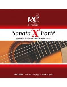 Cuerdas Clasica Sonata 'X' Forté de Royal Classics -  SX80