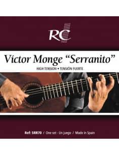 Víctor Monge SERRANITO Cuerdas Guitarra Flamenca -  SRR70