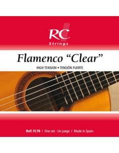 Cuerdas Guitarra Flamenca Flamenco Clear  -  FL70