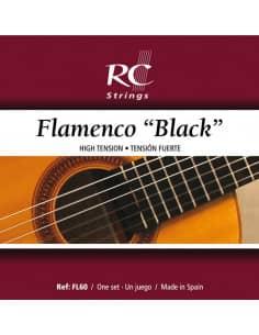 Flamenco Black Cuerdas Guitarra Flamenca  -  FL60