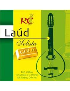 Cuerdas Laúd Solista Gold - LDS20