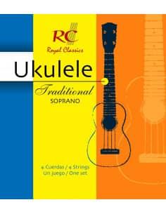 Cuerdas Ukulele Traditional Soprano - UKS40