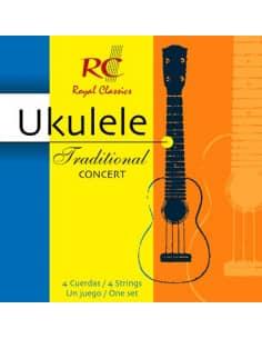 Cuerdas Ukulele Traditional Concert - UKC40