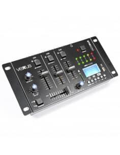 Mezclador VEXUS STM3030 4 canales USB/MP3/BT/REC
