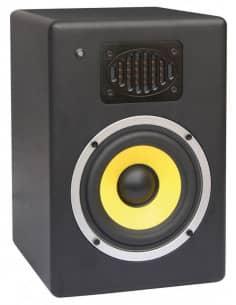"""Power DynamicsGalax 6 Monitor Bi Amplificado de Estudio 6,5"""" Pieza"""