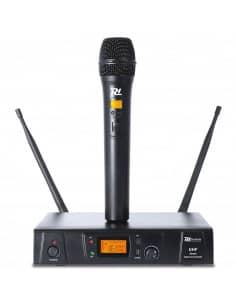 Power DynamicsPD781 Microfono inalambrico UHF de 8 canales 1 microfono