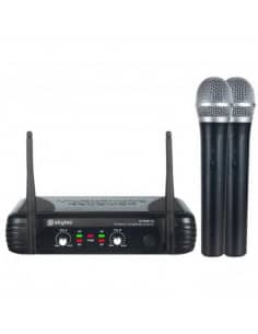 SkyTec STWM712 MIcrofono VHF 2 canales diversity