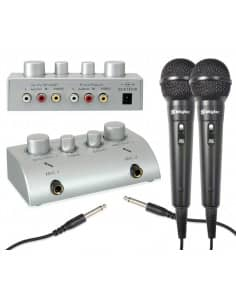 SKYTEC Mezclador de microfonos para Karaoke