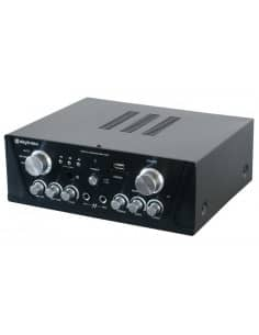 SKYTEC Amplificador Karaoke FM/USB/SD Negro