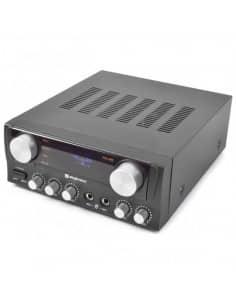 SKYTEC Amplificador Karaoke con Display Negro