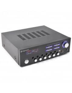 SKYTEC AV-120 Amplificador estereo Karaoke MP3