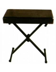Banqueta teclado piano 4 posiciones