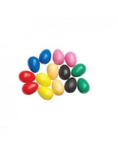 Huevos Shaker de Colores - Pareja