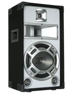"SKYTEC Baffle blanco 10""/25cm 400W LED azules"