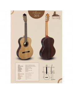 Paco Castillo 203 Guitarra Clásica Española