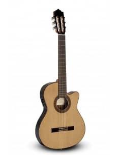Paco Castillo 232TE - Guitarra Clásica Amplificada Cutaway Caja estrecha