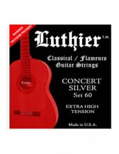 Cuerdas Luthier Concert Silver Set 60