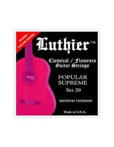 Cuerdas Luthier Popular Supreme LU-20