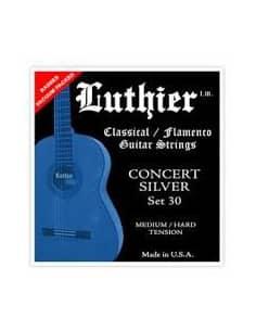 Cuerdas Luthier Concert Silver LU-30