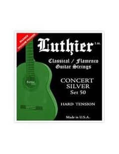 Cuerdas Luthier Concert Silver LU - Hard tensión