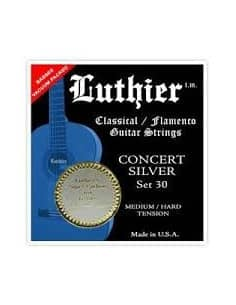 Cuerdas Luthier Concert Silver Super Carbon LU-30SC -Medium/Hard Tension