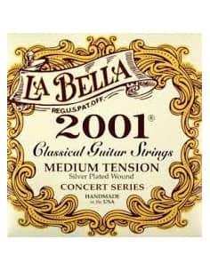 Juego Cuerdas Guitarra Clasica Profesional La Bella 2001MT