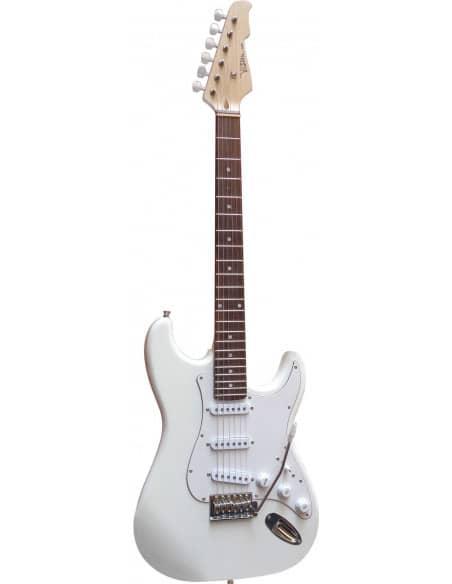 Set Guitarra electrica Vision ST + Ampli 20w CD/MP3 + Accesorios