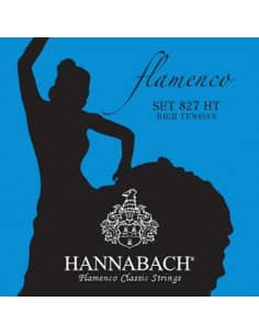 Cuerdas Flamenco Hannabach 827HT