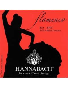 Juego de cuerdas Hannabach Flamenco 827SHT