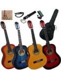 Pack de guitarra clásica 1/2 para niños 6-8 años aproximadamente
