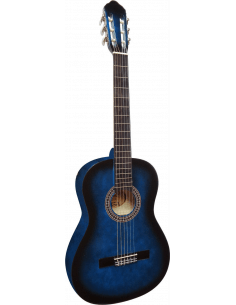 Guitarra clasica C-23 azul 4/4 adulto - A partir de 9 - 10 años