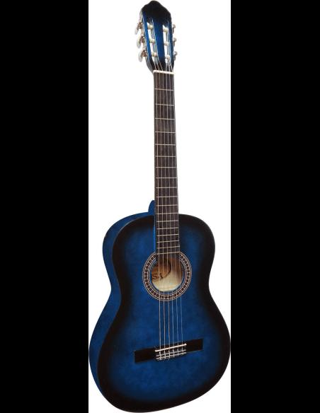 Guitarra clásica C-23 azul 4/4 adulto - A partir de 9 - 10 años