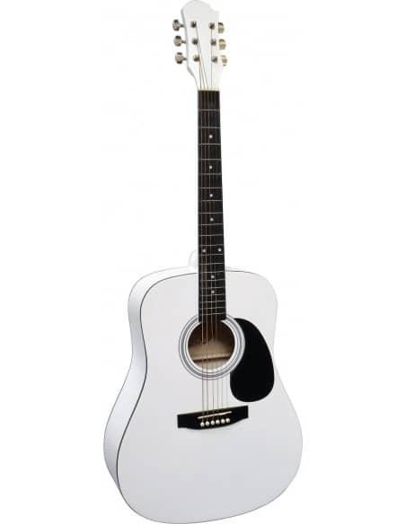 Guitarra acústica MSA forma dreadnought principiantes