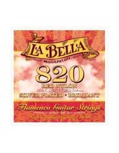 La Bella 820 Juego de Cuerdas para Guitarra Flamenca y clásica