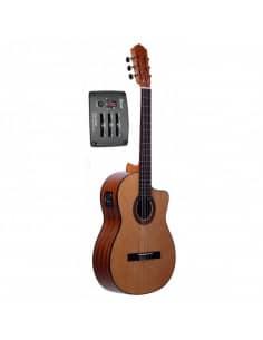 Guitarra clasica Martinez MCG-20 EQ y cutaway