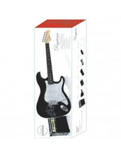 Pack guitarra eléctrica tipo Stratocaster Daytona