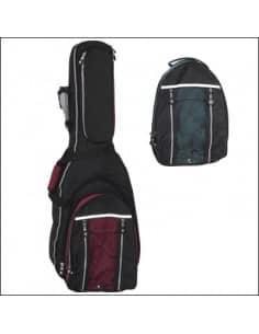 Funda guitarra eléctrica 12mm convertible mochila