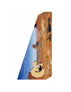 Pack guitarra acústica con cutaway Daytona