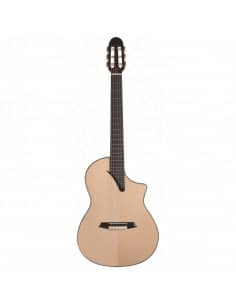 Martínez MSCC-14MS guitarra clásica maciza amplificada
