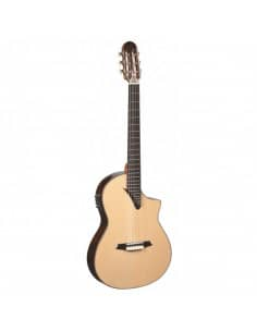 Martínez MSCC-14RS guitarra maciza amplificada palosanto