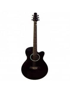 Baffin C330.646BK guitarra acústica negra mini jumbo APX
