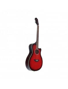 Baffin C330.646RD guitarra acústica rojo mini jumbo APX