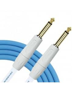 Cable de instrumento 6M JACK-JACK azul