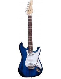 Guitarra Eléctrica Azul Translúcido St5av Vision Stratcaster