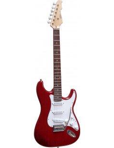 Guitarra eléctrica ST5RV stratocaster rojo translúcido