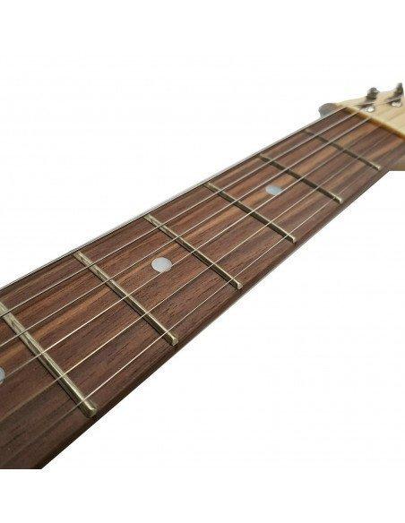 Guitarra eléctrica ST5R stratocaster rojo brillo