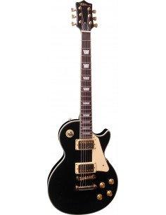 Guitarra eléctrica Les Paul deluxe herrajes dorados
