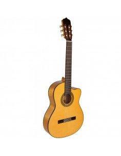 José Gómez C320.590 Guitarra Flamenca cutaway Tapa Maciza