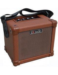 AG-10AM EK audio (RECARGABLE) USB, GUITARRA Y MICRO